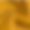 Coupon de tissu burlington coloris safran