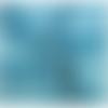 Un mètre de tissu minky coloris turquoise