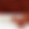 Lot de 8 pelotes de laine coloris cuivre ref 35940