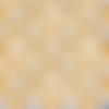 Coupon de cretonne motif nénuphars
