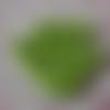 Boutons oursons verts en acrylique pour layette, tricot pour enfants, vendus par 10 boutons, de, 1,60 cm de hauteur.