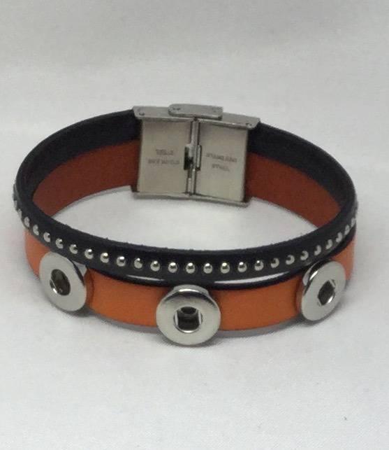 bracelet cuir 12mm