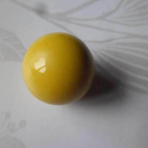 Boule musicale vert fluo 16 mm pour bola de grossesse