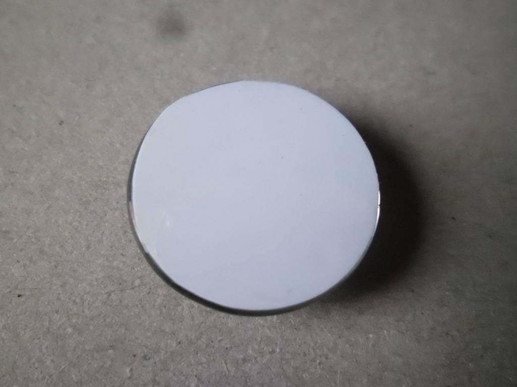 x 1 camée/cabochon verre dome rond motif poupée Russe 25 mm