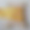 Ruban gros grain 10 mm jaune ocre 12