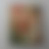 Bouton bois forme timbre 197