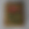 Bouton bois forme timbre 191