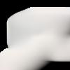 Echeveau 5 m élastique blanc 5 mm