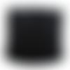 Elastique plat 3mm noir