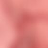 Minky polaire à pois corail clair