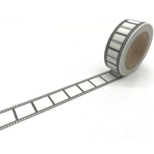 Rouleau de masking tape cinéma 10m - washi tape
