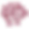 100 granulés de cire bordeaux pour cachet de cire