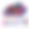 100 granulés de cire multicolore pour cachet de cire fait main
