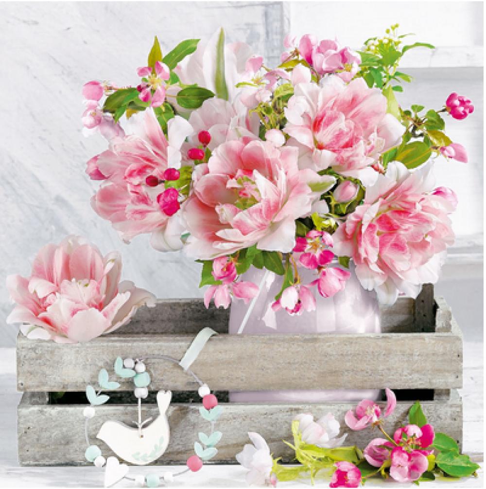Joli Bouquet De Fleurs Ref 1599