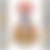 1 serviette en papier personnage - bretzel - ref 1682