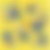 1 serviette en papier fruits minions -  ref 1821