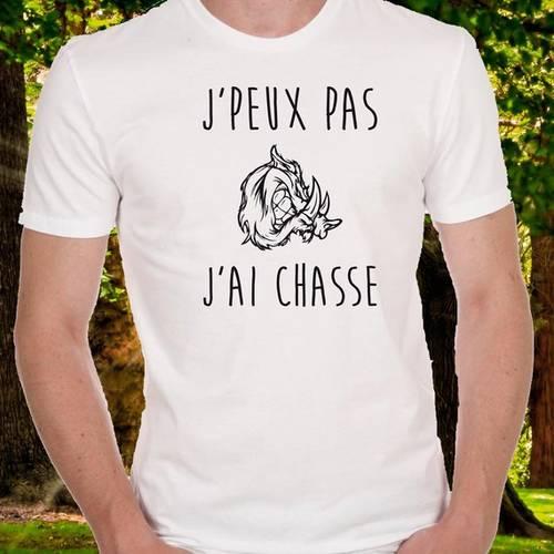 JPeux Pas JAi Chasse T-Shirt Homme