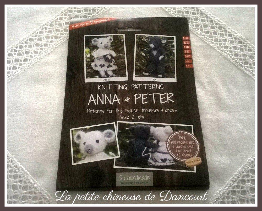 Kit les petites souris Anna et Peter