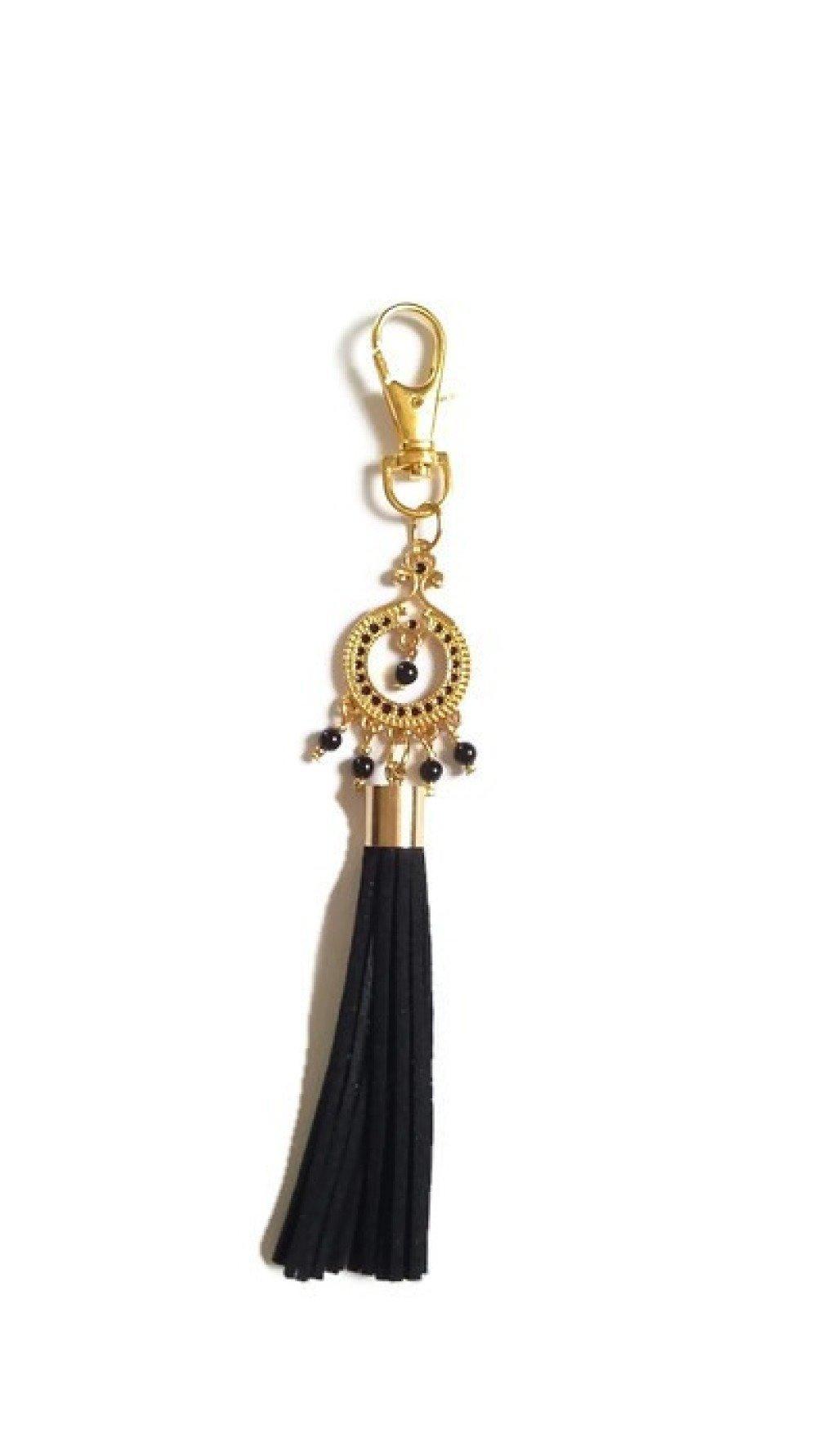 Bijoux de sac indien bollywood tourmaline noire