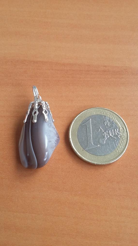 Pendentif agate du botswana
