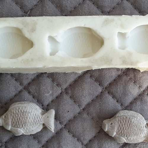 Moule mini poisson