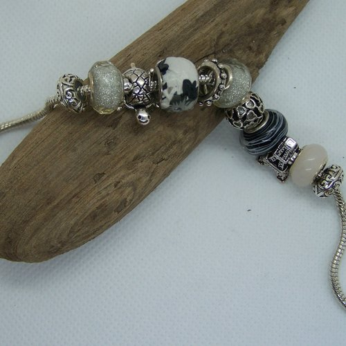bracelet argent style pandora