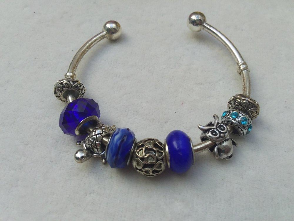 pandora bleu bracelet