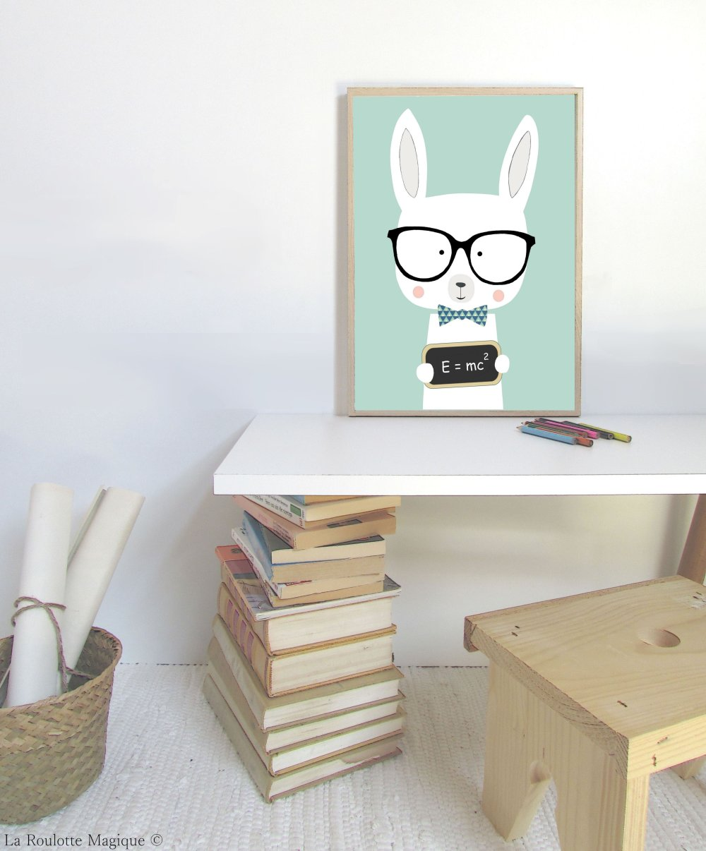 Affiche Lapin