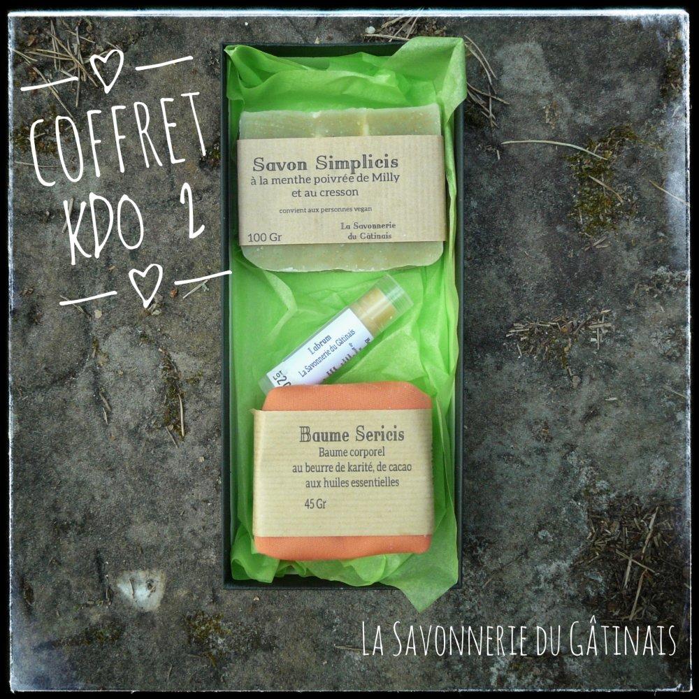 Coffret Cadeau (1 savon et 2 baumes)