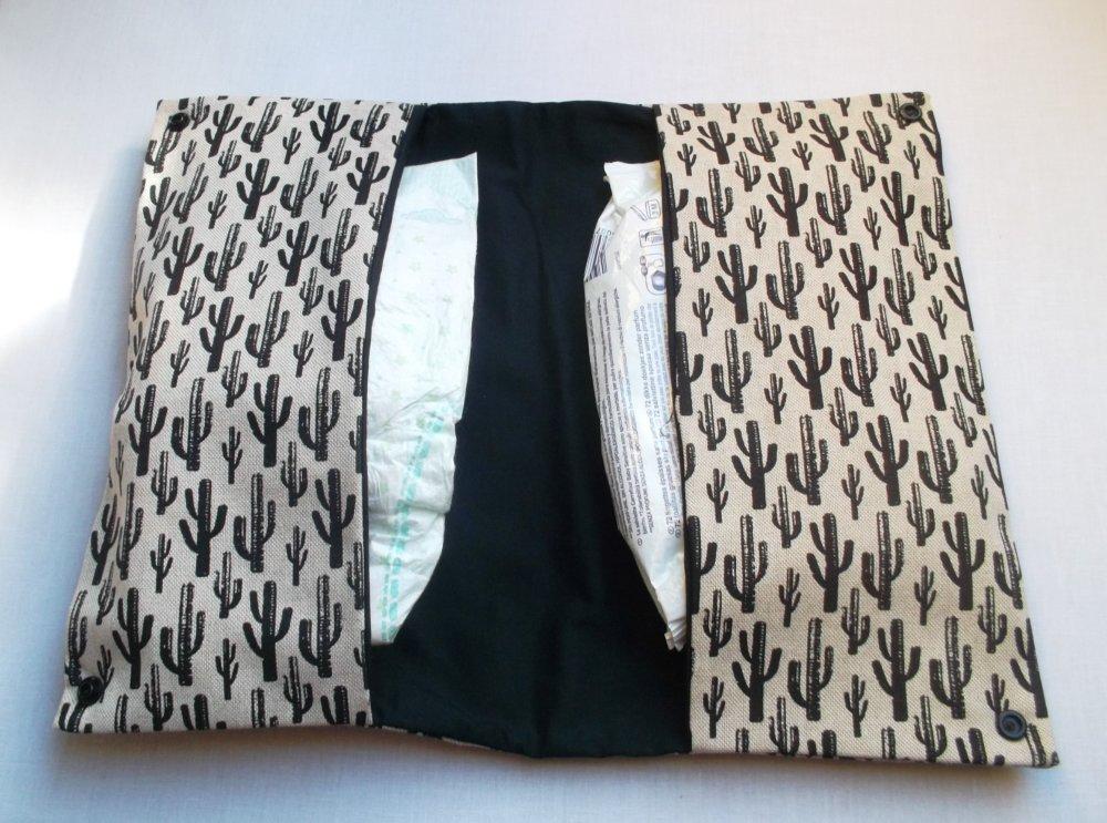 Pochette à couches / Pochettes à lingettes / rangement couches