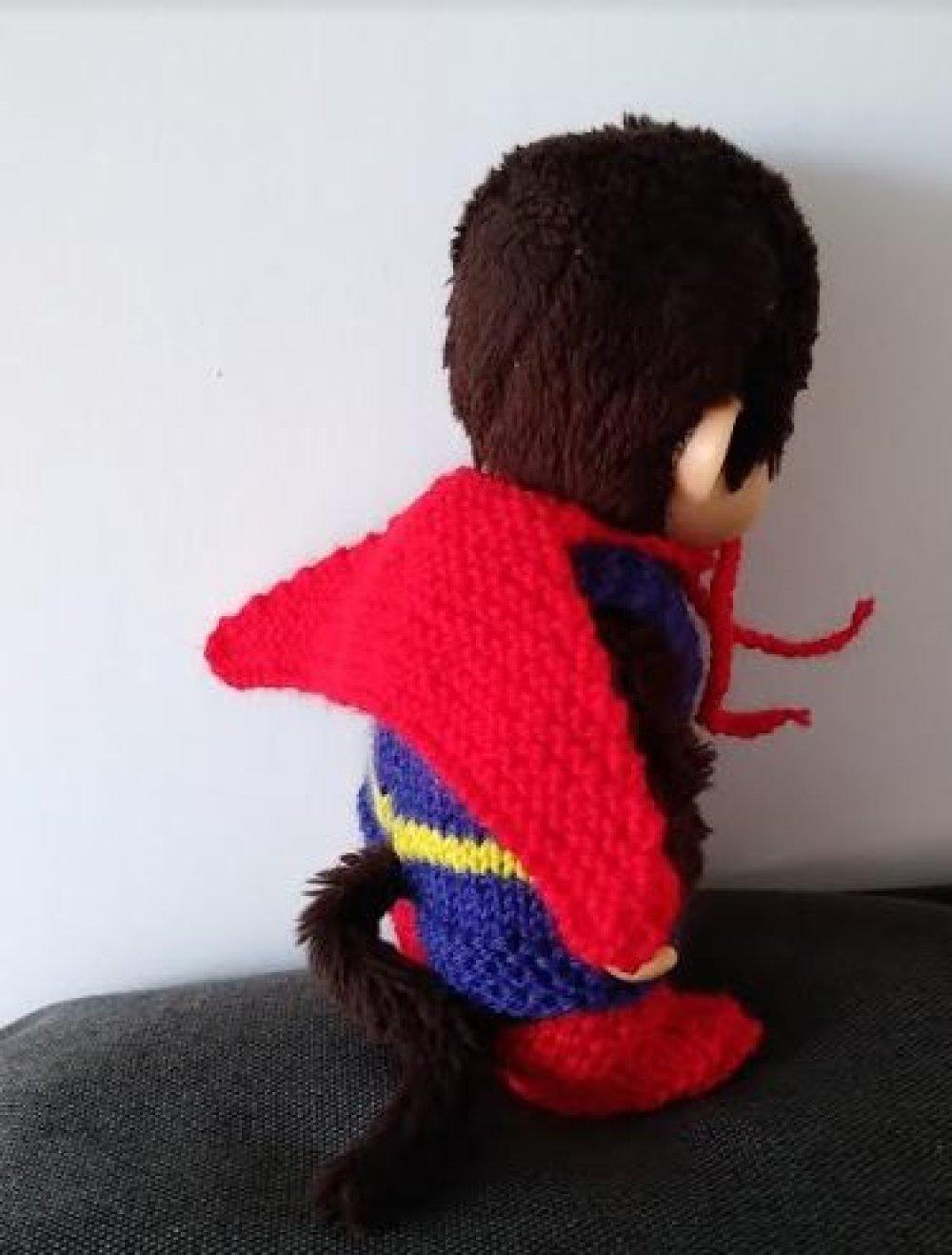 tenue de super héros pour kiki - lot 1