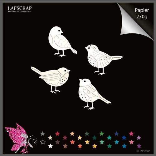Découpes scrapbooking animal oiseaux découpe papier embellissement die cut création