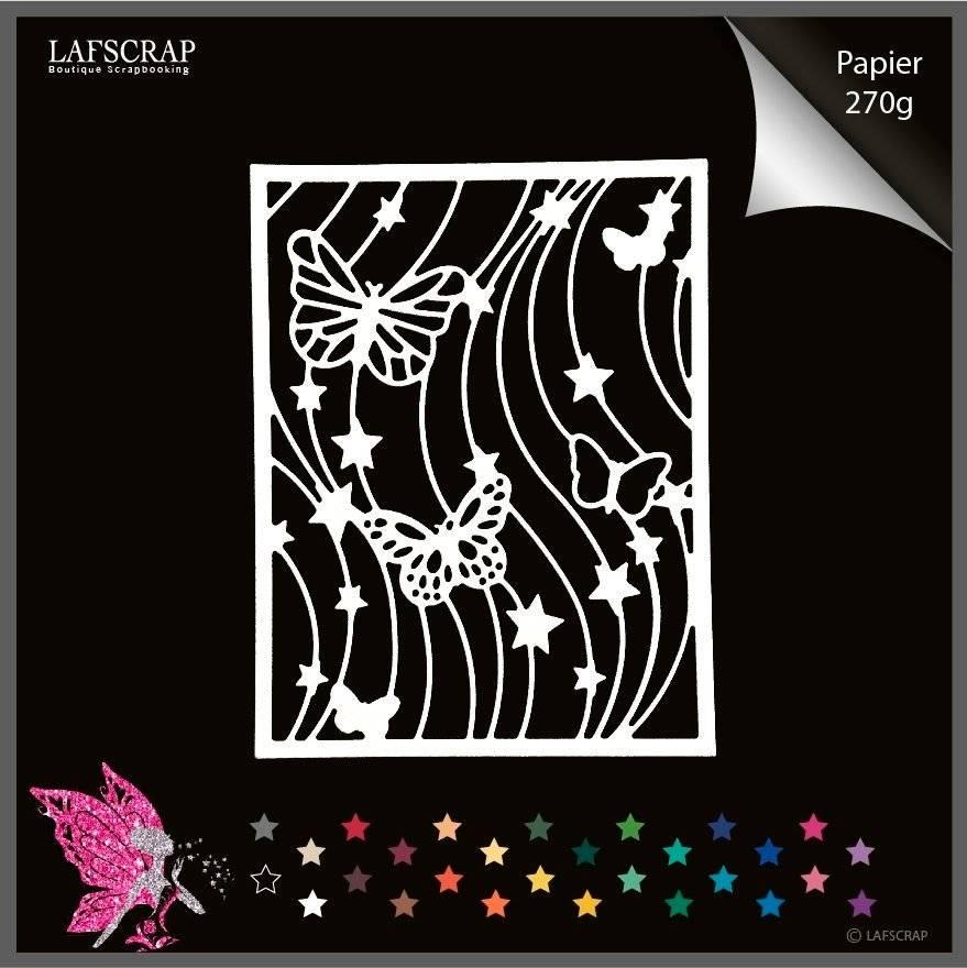 Découpe scrapbooking scrap cadre papillon étoile animal découpe papier embellissement die cut création