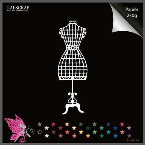Découpe scrapbooking scrap mannequin couture découpe papier embellissement décoration carte album