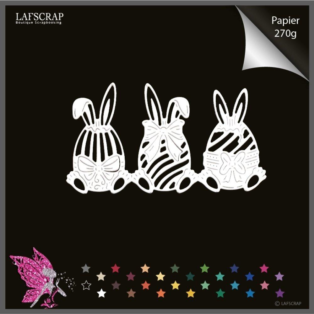Découpe scrapbooking, bordure lapin oeuf pâques, noeud, easter,  bébé naissance découpe papier embellissement