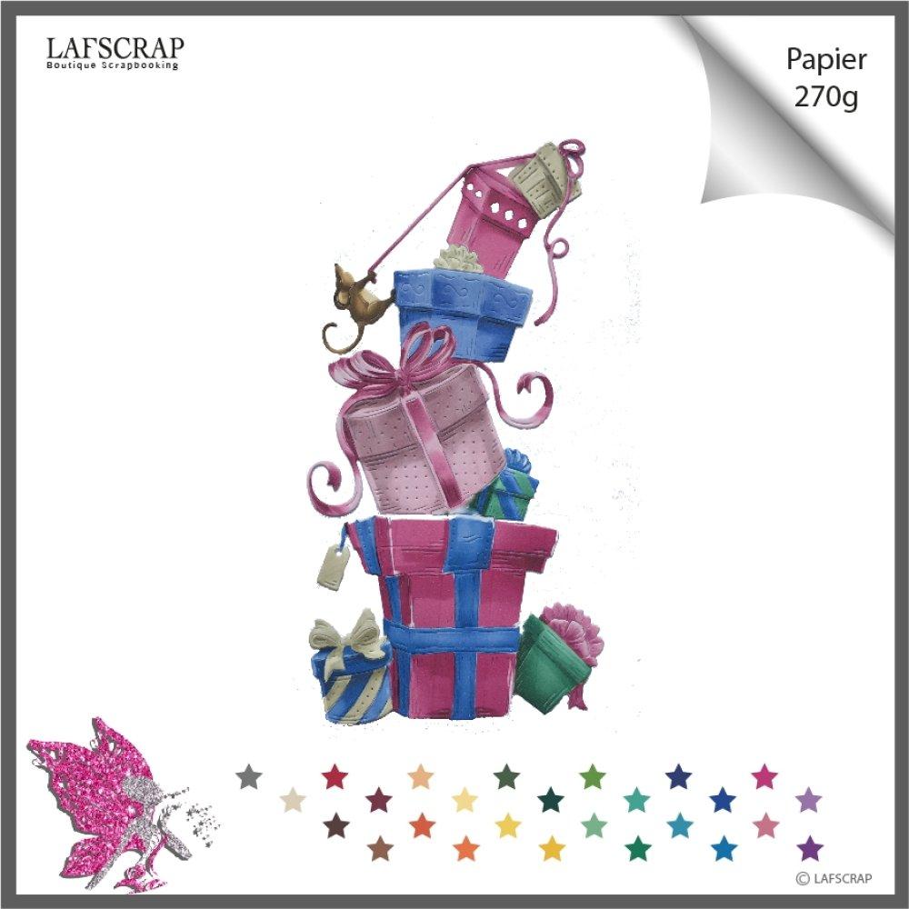 1 découpe scrapbooking cadeau noël, noeud fête anniversaire, animal souris sapin  découpe papier  embellissement