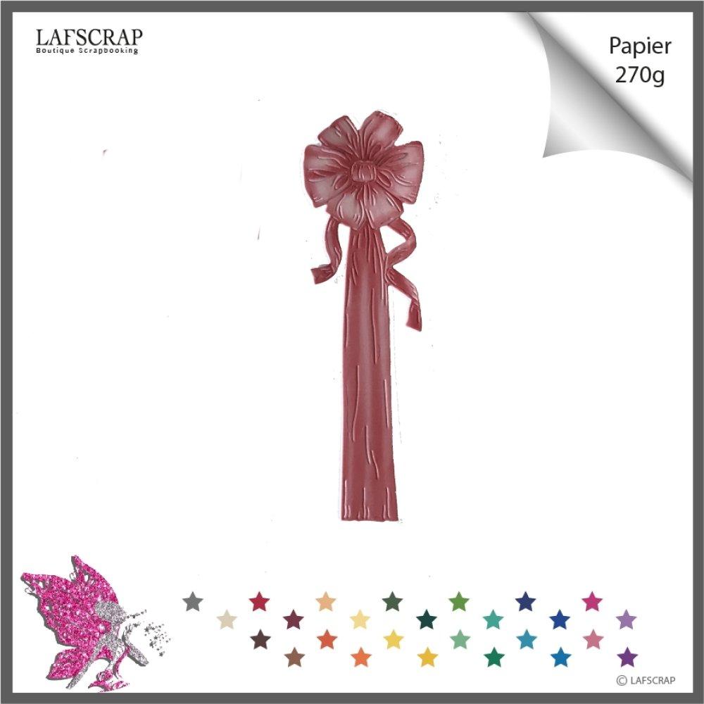 Découpe scrapbooking, fleur ruban,  noeud mariage noces décor carte bébé naissance, découpe papier