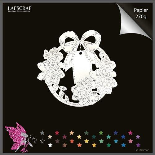 Découpe scrapbooking  étiquette tag fleur rose feuille cadre mariage enfant cadeau noeud bébé naissance découpe papier embellissement