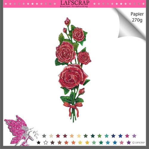 Découpe scrapbooking bouquet fleur feuille nature jardin parfum fête mariage bébé maison découpe papier
