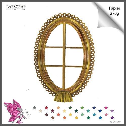 Découpe scrapbooking scrap cadre fenêtre dentelle maison cottage découpe papier embellissement