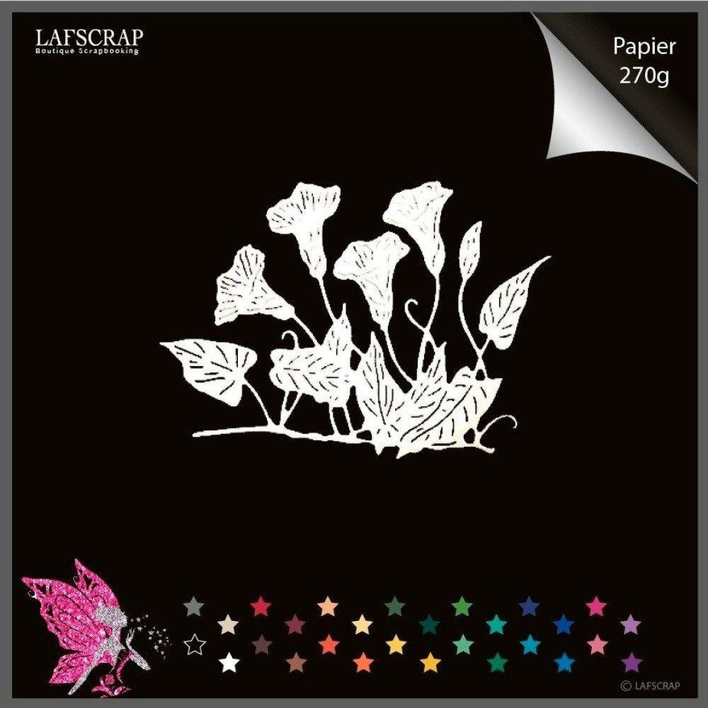 1 découpe scrapbooking fleurs découpe papier embellissement die cut création