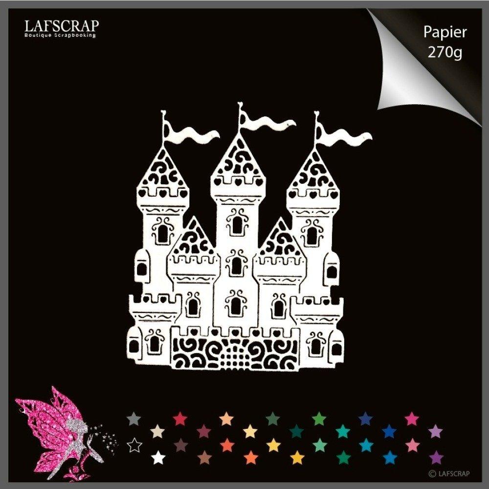 1 découpe scrapbooking château scrapbooking embellissement album