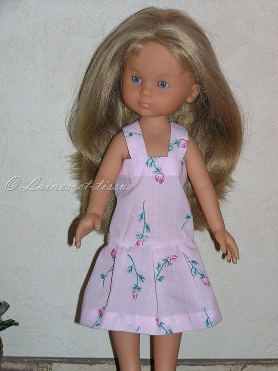 Robe  pour poupée Chérie de Corolle ou Paola Reina