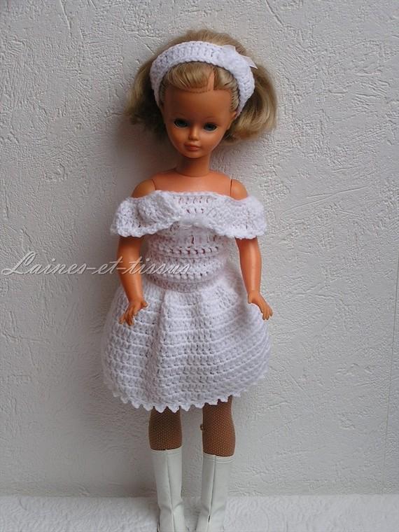 Robe pour poupée Cathie de Bella