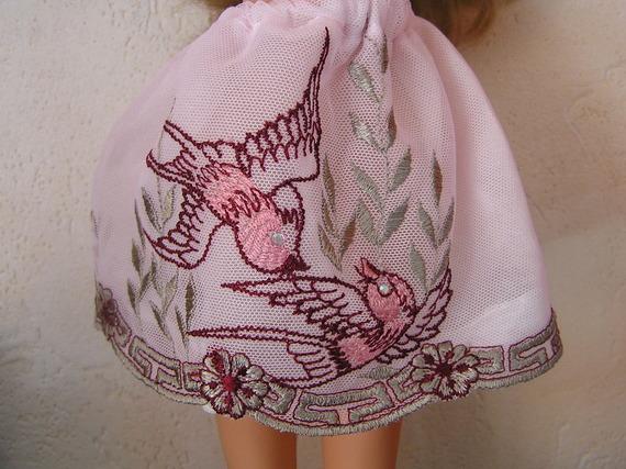 Jupe pour poupée de 32 33 cm,Chérie de Corolle ou Paola Reina