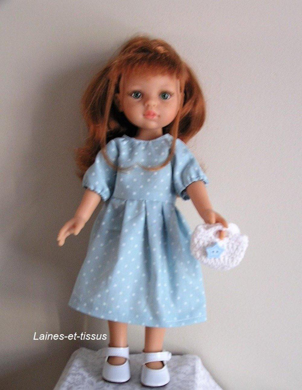 Vêtement pour poupée Chéries ou Paola Reina