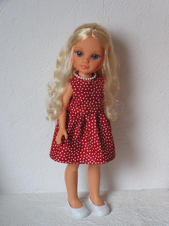 Robe pour poupée type Nancy de Famosa 43 cm
