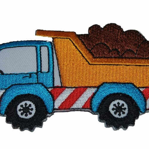 Patch camion ecusson thermocollant couture