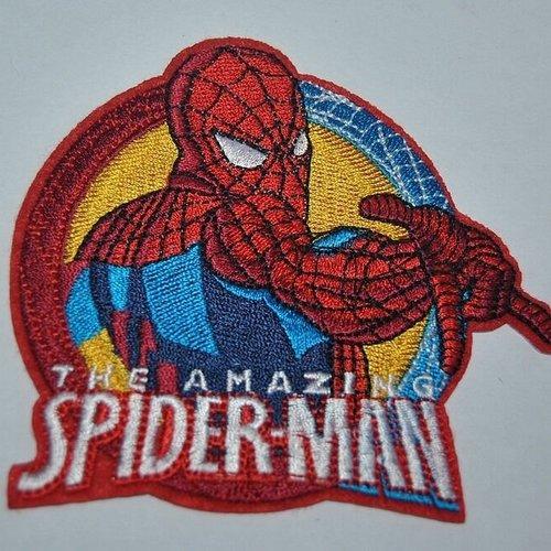 Patch spiderman écusson brodé thermocollant coutures n°2