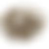 Lot de 100 anneaux bronze 8 mm